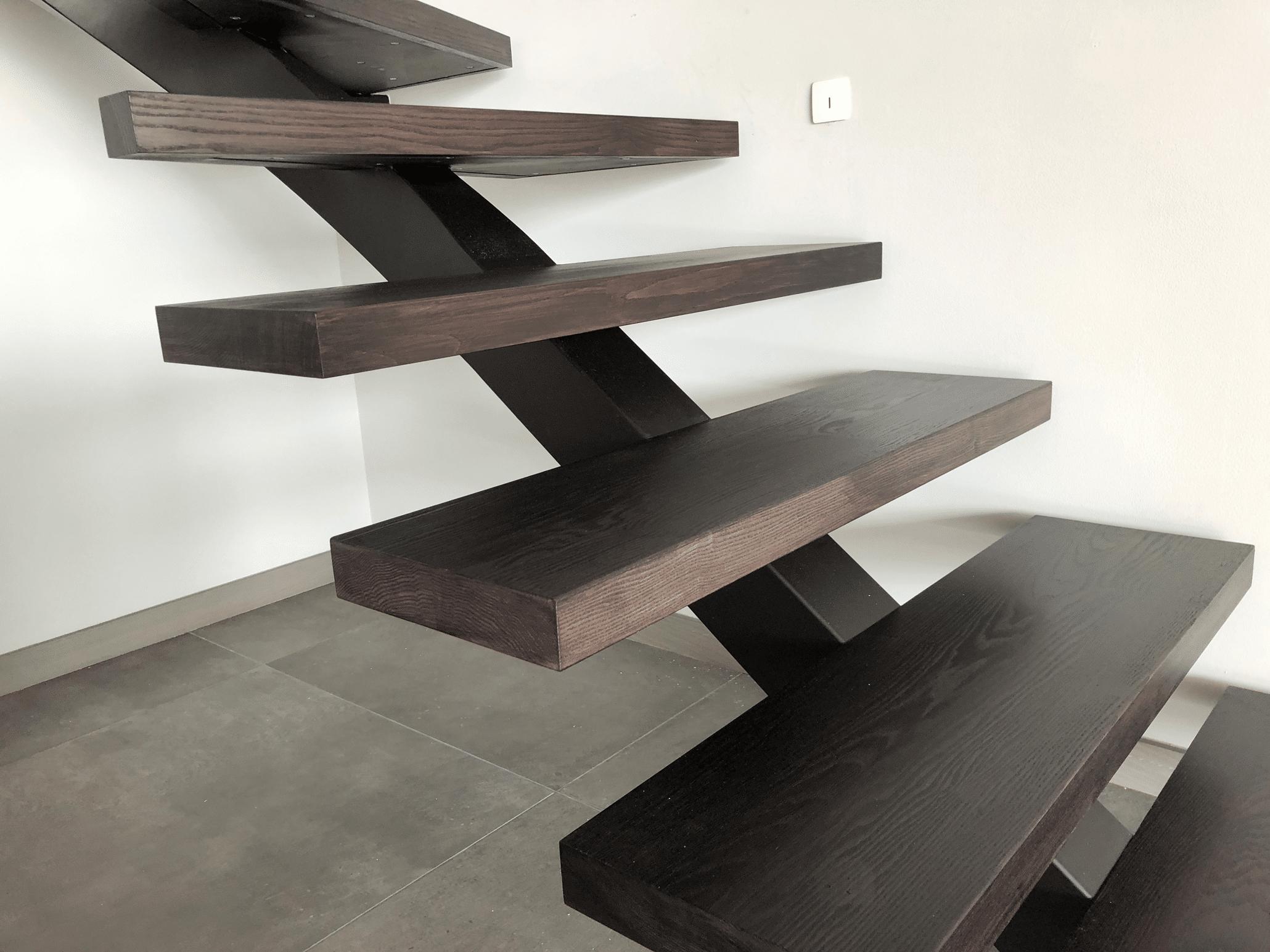 escalier bois métal Paris