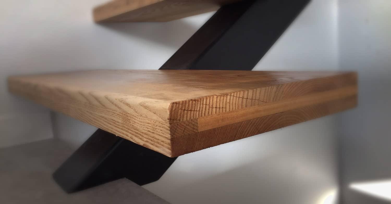 Escaliers jacoby nous fabriquons l 39 escalier de vos r ves - Escalier bois et acier ...