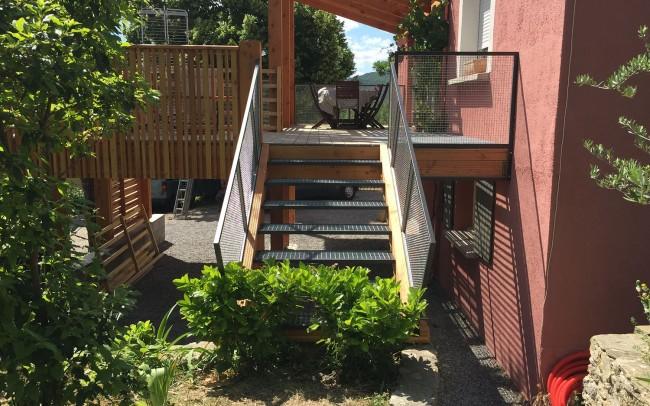 escalier design acier escalier contemporain en acier escalier acier- escalier design acier jacoby