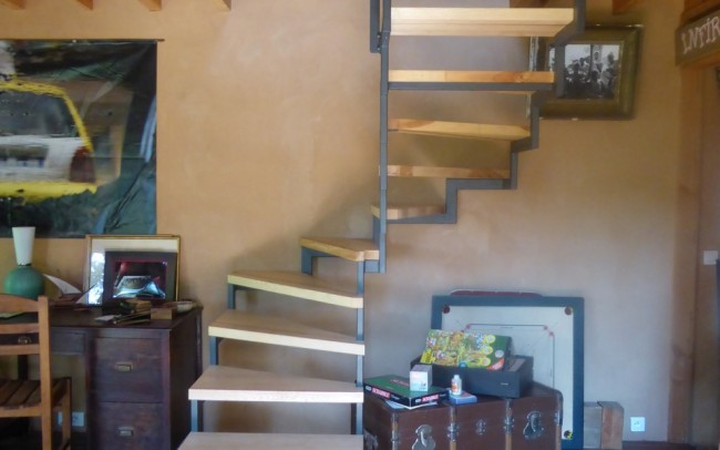 escalier colimaçon en Alsace, escalier colimaçon design, escalier sur mesure en Alsace