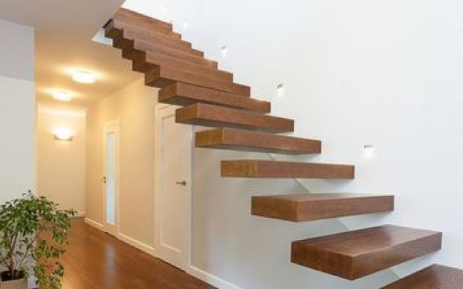 escalier suspendu en Alsace, escalier suspendu design en Alsace