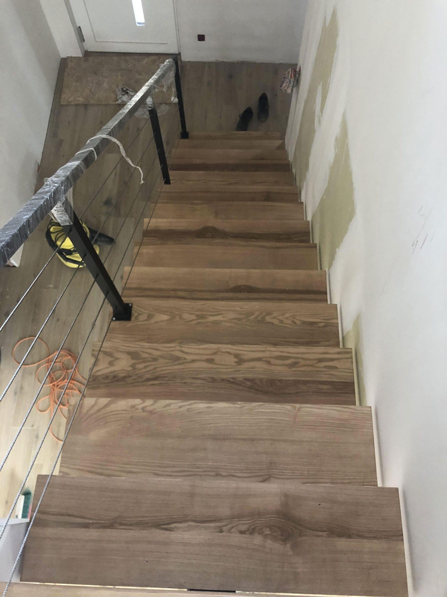 Réalisation d\'un escalier sur mesure Alpes maritimes (06). Escalier ...