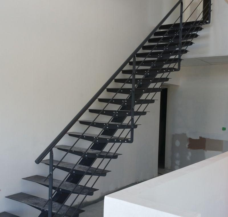 escalier métal Alsace