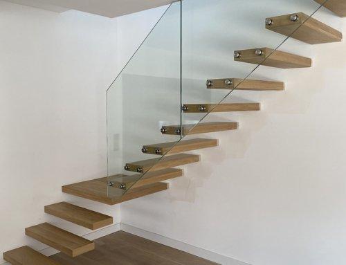 Escalier garde-corps en verre – Montpellier (34)