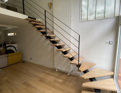 Escalier quart tournant – Montpellier (34)