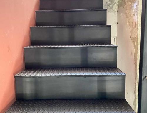 Escalier acier – Béziers (34)
